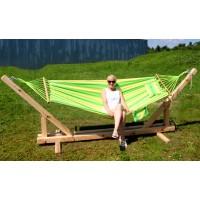 Стойка для гамака деревянная ComfortProm Bali natural