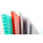 Сотовый поликарбонат цветной толщиной 3,8 мм (2,1 x 6 м)