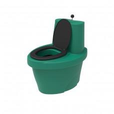 Биотуалет торфяной «Rostok» зеленый