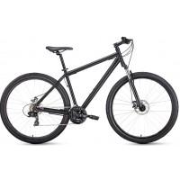 Велосипед Forward Sporting 29 2.1 Disc 2021 черный матовый/черный