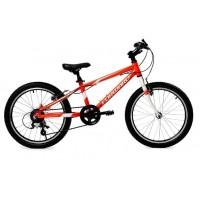 Детский велосипед Forward Rise 20 2.0 2021 красный/ярко-желтый