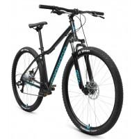 Велосипед Forward Sporting 29 2.2 Disc 2021 р.21 черный/бирюзовый