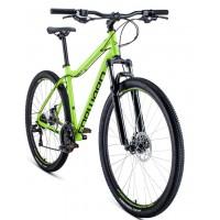 Велосипед Forward Sporting 29 2.2 Disc 2021 р.21 ярко-зеленый/черный