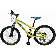 Велосипед Arena Flash 2020 желтый