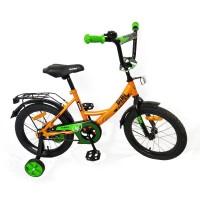 Велосипед BiBi Strike 16 (2020) оранжевый