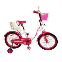 Велосипед BiBi Fly 18 (2021) белый/красный