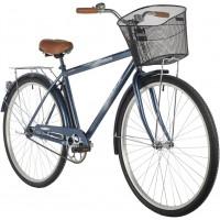 Велосипед Foxx Fusion 28» (2021) с корзиной синий