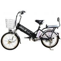 Электровелосипед EL-BI 20-12 черно-серый