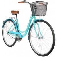"Велосипед Foxx Vintage 28"" (2021) с корзиной бирюза"