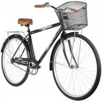 Велосипед Foxx Fusion 28» (2021) с корзиной черный