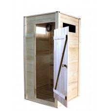 Летний душ деревянный «ComfortProm»