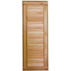 Дверь для бани ComfortProm 700х1800 деревянная глухая