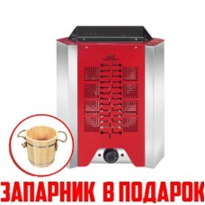 Электрокаменка  3 кВт «Гамма» Red. Black