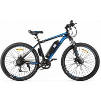 Электровелосипед Eltreco XT 600 D черно-синий