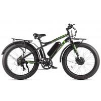 Электровелосипед VOLTECO BIGCAT DUAL new, черный