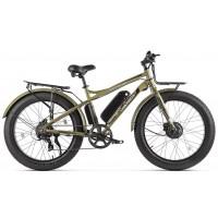 Электровелосипед VOLTECO BIGCAT DUAL new, хаки