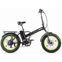 Электровелосипед VOLTECO CYBER черно-салатовый