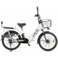 Электровелосипед GREEN CITY e-ALFA new серебристый