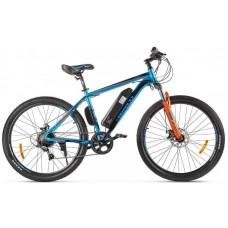 Электровелосипед Eltreco XT 600 D сине-оранжевый