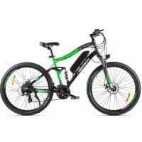 Электровелосипед Eltreco FS 900 new черно-зеленый