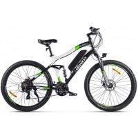 Электровелосипед Eltreco FS 900 new зелено-белый