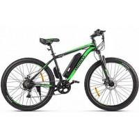 Электровелосипед Eltreco XT 600 D черно-зеленый