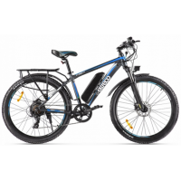 Электровелосипед Eltreco XT 850 new  серо-синий