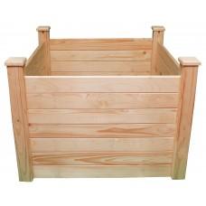 Клумба деревянная приподнятая ComfortProm H77 x 104 x 104 cm