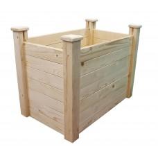 Клумба деревянная приподнятая ComfortProm H77 x 104 x 62 cm