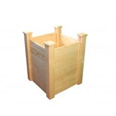 Клумба деревянная приподнятая ComfortProm H77 x 62 x 62 cm