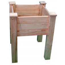 Клумба деревянная на ножках ComfortProm H77 x 62 x 62 cm
