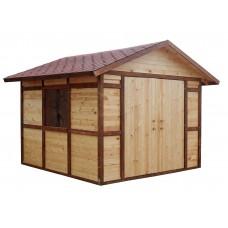 Хозблок деревянный ComfortProm 3x3 метра