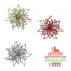 Декоративные цветы на елку Лилия