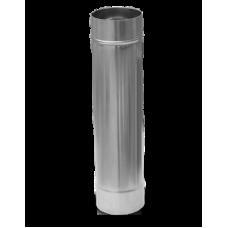 Труба дымохода из нержавеющей стали (430) 0,5 метра, ⌀115мм.