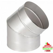 Отвод, 45 гр., ф115 (нерж 409)