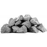 Камни для бани Габбро-диабаз колотые (крупные 70 - 140мм)  1кг