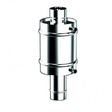Теплообменник труба Ø115мм/V12л AISI 430/1,0мм ТП-12
