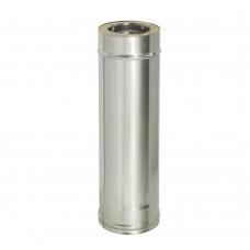 Сэндвич-труба L-500мм, ф150/220 (нерж 430/1-оц/0,5)