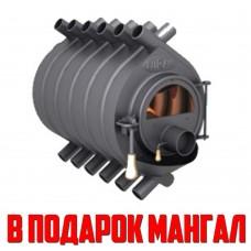 Отопительная печь Буран АОТ-08 тип 0,05 со стеклом