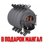 Отопительная печь Буран АОТ-14 тип 02 со стеклом