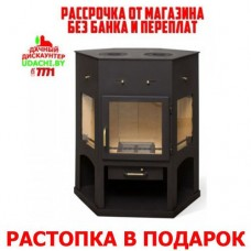 Камин Мета - Бел Енисей с плитой для дома и дачи