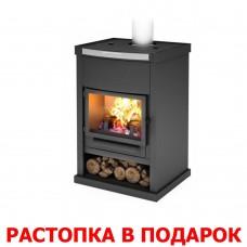 Печь-камин Теплодар ОВ-120 (прямой) дымоход ф150