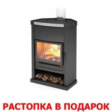 Печь-камин Теплодар ОВ-120 (угловой) дымоход ф150