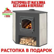 Печь-камин Этна (ДТ-4С) угловой УЦЕНКА