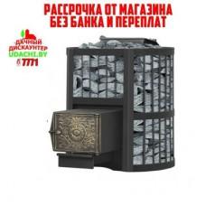 Чугунная печь для бани Везувий Ураган Стандарт 28 (ДТ-4) УЦЕНКА