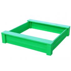 Песочница из дерева ComfortProm зеленая
