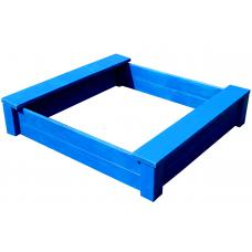 Песочница из дерева ComfortProm синяя