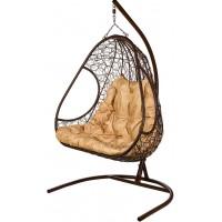 Кресло подвесное BiGarden Primavera Brown (двойной)