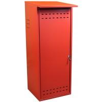 Шкаф ComfortProm для газового баллона оцинкованный красный