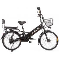 Электровелосипед GREEN CITY e-ALFA GL черный